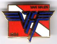 VAN HALEN vintage '80s enamel pinback - pin - button ~ NEW AND NEVER WORN!