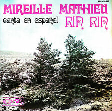 EP MIREILLE MATHIEU rin rin SPANISH SUNG 1968 petit papa noel NAVIDADES BLANCAS