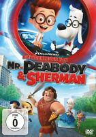 DIE ABENTEUER VON MR.PEABODY & SHERMAN   DVD NEU