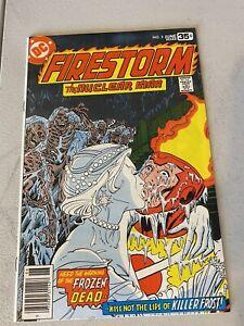 FIRESTORM 3 1st Killer Frost RAW High Grade 9.4 DC Comics Key Issue Flash CW
