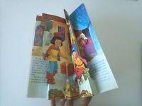 1981 Libro Animado Pop-Up, Perrault, La Bella Durmiente, Artes Graficas Cobas