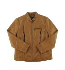 Giacca Womens Brown Minus The Leather Quilted Jacket Coat Plus 1X