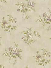 York Nantucket Floral Bouquet Wallpaper  NK2012   per Double Roll