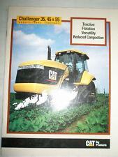 Challenger 35,45 & 55 Tractor range brochure 1995