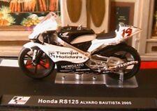 MOTO GP BIKE HONDA RS 125 #19 ALVARO BAUTISTA 2005 1/24 NEW IXO ALTAYA
