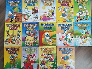 Donald Duck Taschenbuch Comics 14 Stück zwischen Nr 450 bis 465