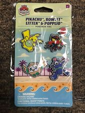 Pokemon Pin Collection Anaheim Worlds Championship 2017 NEW Sealed Rowlet Litten