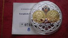 "Erstabschlag 10 Corona ""Kaiser Franz Joseph I."" teilvergoldet mit Farbe !"
