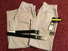 Under Armour Relaxed Fit Baseball Pants-Size M-2 Pairs w/ Franklin Belt