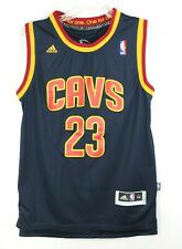 LeBron James #23 Navy Blue Cavs Adidas All For One Jersey Mens Medium NBA