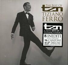 Tiziano Ferro - TZN Best of VINILE Deluxe 4LP (new album/disco sigillato) lim Ed