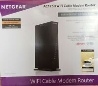 Netgear AC1750 DOCSIS 3.0 WiFi Cable Modem Router Xfinity Spectrum Cox Certified