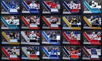 2020-21 Upper Deck Game Jersey Relic Hockey Cards U Pick From List