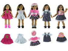 "2 Set Doll Clothes for 18/"" American Girl Doll Handmade Clothing Dress AG521"