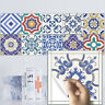 20 PCS 3D DIY MOROCCAN TRANSFER SELF-ADHESIVE BATHROOM KITCHEN WALL TILE STICKER