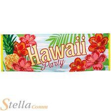Hawaii Party Banner Tropical Beach Hawaiian Summer Flag Decoration 70 x 220cm