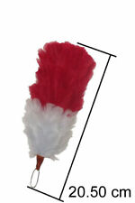 Plumes Hackles 8 inches Overall for Feather Bonnets Shakos Officers Hats & Caps
