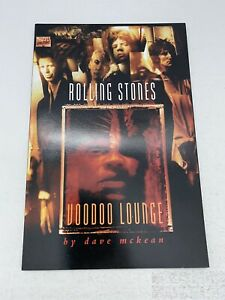 Rolling Stones Voodoo Lounge Marvel Music VF Collectible Comic Book