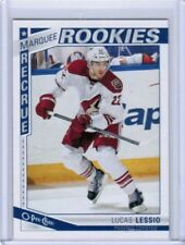 13/14 O-PEE-CHEE OPC UPDATE LUCAS LESSIO #619 MARQUEE ROOKIES RC PHOENIX COYOTES