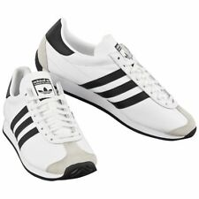 UK SIZE 7.5 - ADIDAS ORIGINALS COUNTRY OG TRAINERS - WHITE