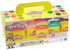 Markenlos Knetset Knetmasse bunt Knetgummi Kinder Knete Bastelset Basteln Spielset Kinder
