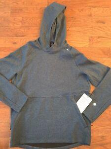 Lululemon At Ease Hoodie - Men's Medium ~ $148.00 Blue Pullover Sweater