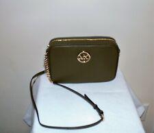 NWT ~ MICHAEL KORS Fulton Large Ew Crossbody Handbag Olive