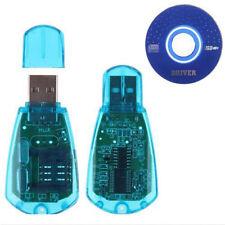 USB Handy Standard SIM Kartenleser Cloner Writer SMS Backup GSM / CDMA + CD