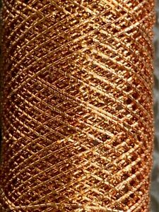 Copper Rayon Embroidery Thread Unbranded