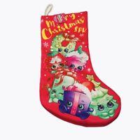 Shopkins Christmas Stocking Pink Kids Toys Kurt Adler SPK New