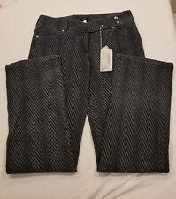 ESCADA 16 - 42 Denim STRETCH - Boot Cut Mid Rise Jeans Shadow Stitch detail NWT