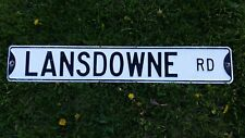 Vintage Lansdowne Street Sign, Retired Street Sign