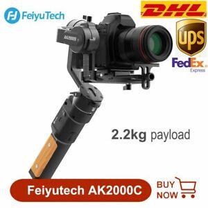 FeiyuTech AK2000C 3-Axis Stabilizer Gimbal for DSLR Canon Sony Panasonic Cameras