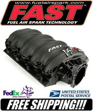 Black FAST LSXR Big Mouth 102mm GM LS7 Intake Manifold #146202B