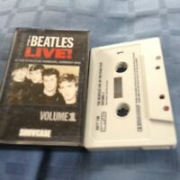 THE BEATLES LIVE! AT THE STAR CLUB HAMBURG  1962 VOL1 CASSETTE TAPE