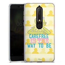 Nokia 6.1 Silikon Hülle Case - Muppets Carefree is the way to be