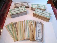 MASSIVE COLLECTION OF RARE ADAMS PLAY MONEY - ONE HUNDRED BUCKS - HUGE AMOUNT!