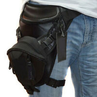 Motorcycle Rider Outdoor Drop Waist Leg Bag Men Oxford Thigh Pouch Fanny Pack