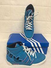 Adidas Original Hard Court Hi Big Logo Athletic Basketball Shoe Size 11 [BC]