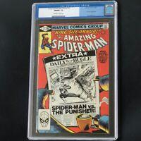 Amazing Spider-Man Annual #15 🔥 CGC 9.8 🔥 Punisher App! Marvel Comic 1981