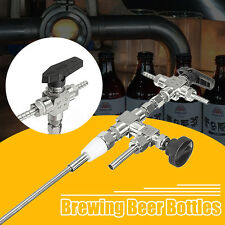 1x Stainless Steel Counter Pressure Beer Bottle Filler Home Brew CO2 Brewing Kit