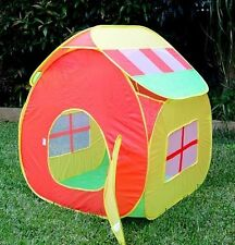 NEW! Children Pop-up Tent Kids Play Cubby House Toy Teepee Portable Outdoor Tent