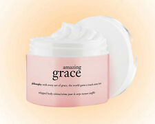 Philosophy Amazing Grace Whipped Body Crème 8 OZ. Have Silky Skin- NEW/ Gift Box