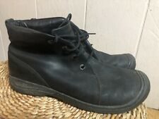 KEEN Mens Casual Black Ankle Boots Size 11.5 Euro 45