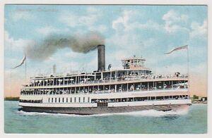 Versand Postkarte - Steamer Columbia (A18)