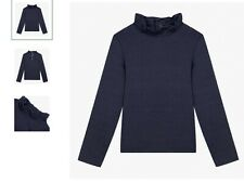 girls catimini navy top last remaining stock
