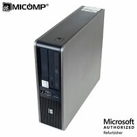 HP Desktop Computer PC Intel Core 2 Duo 3.0Ghz 4GB RAM 250GB DVD Windows 10 Pro