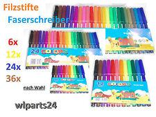 Markenlose Filzstifte & Fasermaler Schul -