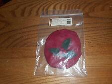 Longaberger Melody Basket Fabric Lid Cover Paprika #2807827