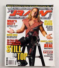 Shawn Michaels February 2004 Steve Austin Poster WWE WWF RAW Wrestling Magazine